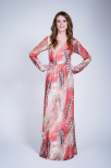 Ophelia Long Dress - Dry Lake