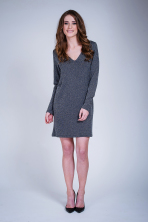 Nicolina Short Dress - Dry Lake
