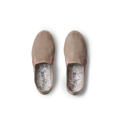 Double Soul Suede Espsadrillos Sand - Odd Molly