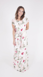 Flower Power Llong Dress - Dry Lake