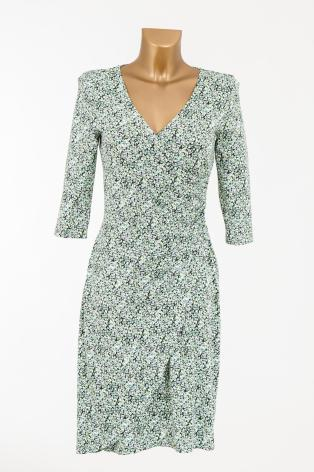 Easy Wear Jersey Dress Green - Pernilla Wahlgren