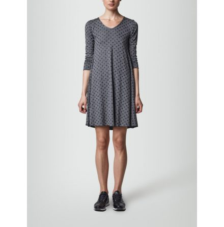 Sophie Dress Grey Dot - Jascha