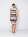Hyde Park Overlap Dress - Dry Lake