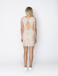Romantica Dress Beige - Dry Lake