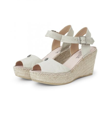 Solemate High Heel Espadrillos Light Tan - Odd Molly