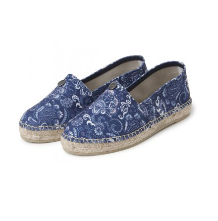 Oddspadrillos Printed Dark Blue - Odd Molly