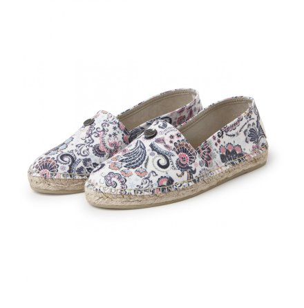Oddspadrillos Printed Light Multi - Odd Molly