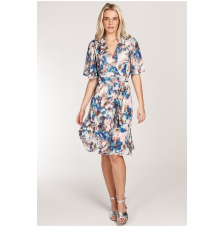 Bonnie Jersey Dress Blue - Pernilla Wahlgren