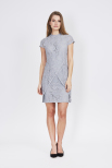 Mist Overlap Dress - Dry Lake