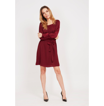 Kate Dress Ruby Wine - Dry Lake