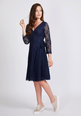 Joni Wrap Dress - Dry Lake