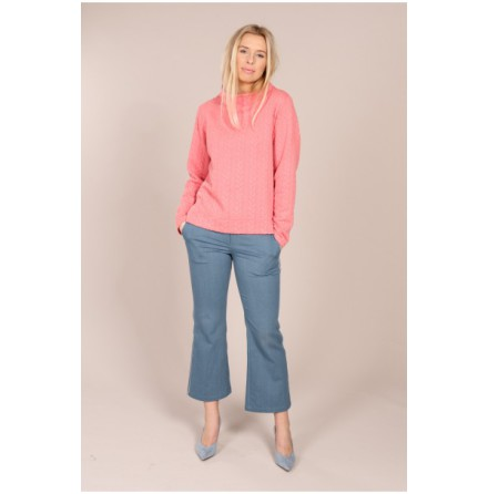 Cably Sweatie Pink - Suzanne Nilsson