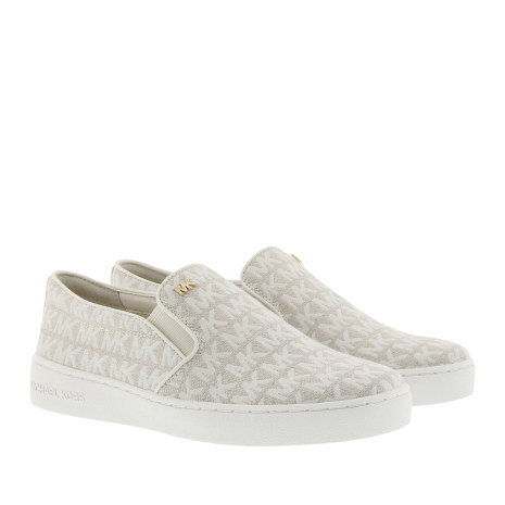 Keation Slip On Optic Ivory - Michael Kors