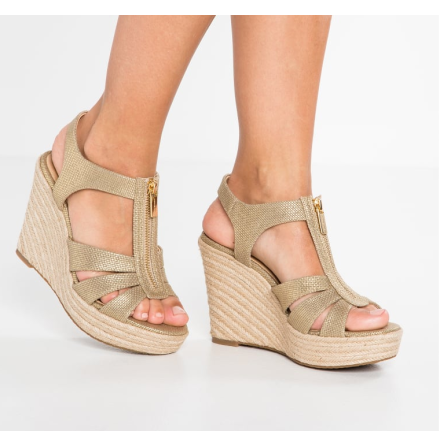 Berkley Wedge, pale gold