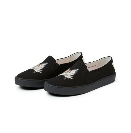 Speed Up Slip-In Sneakers Almost Black - Odd Molly