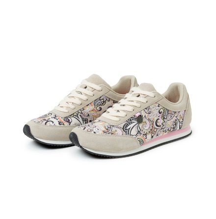 Lace Up Trainer Light Porcelain - Odd Molly