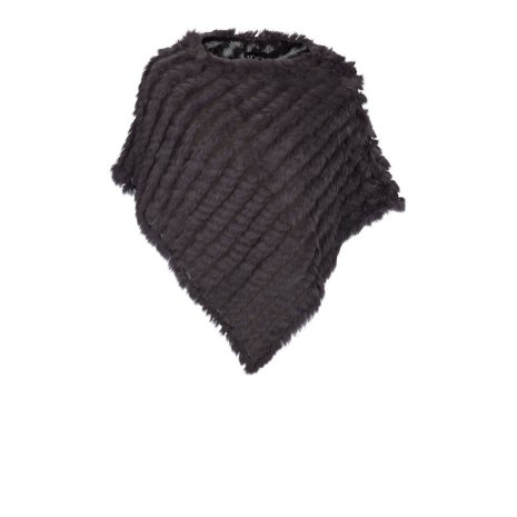 Molly Poncho, Dark Grey - NATURES Collection