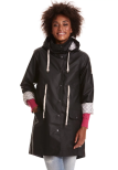 Free Range Rainjacket Almost Black - Odd Molly