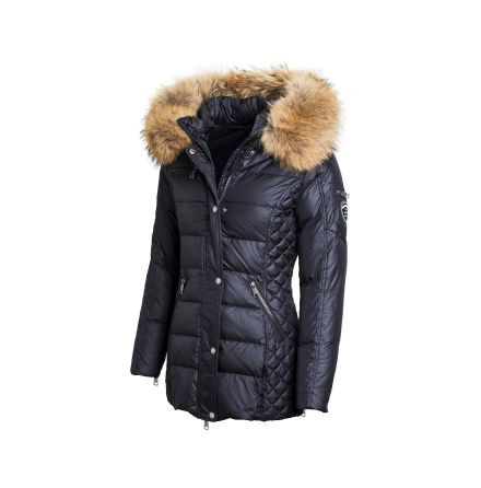 Beam Mid Black Faux Fur - RockandBlue