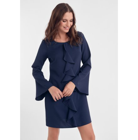Lisette Dress, Navy - Dry Lake