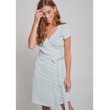 Nicole Dress, Scallop - Dry Lake