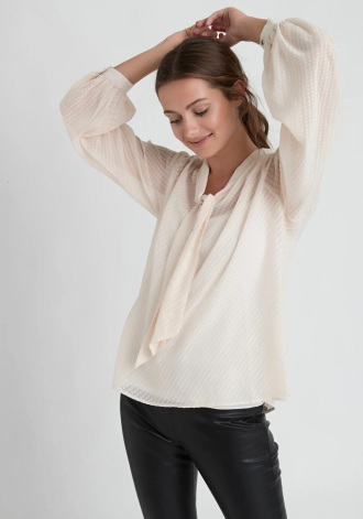 Bisse Blouse, Creme - Dry Lake