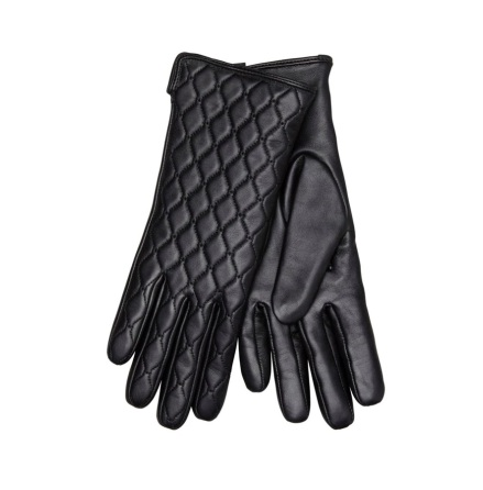 Glove Quilted, Black - Hollies