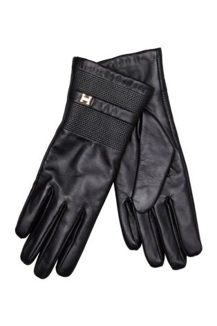 Glove H, Black - Hollies