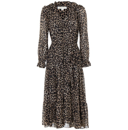 Cheetah Tied Dress - Michael Kors