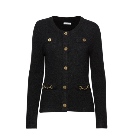 Noble Cardigan, Black - Ida Sjöstedt