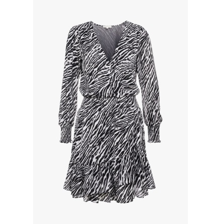 Safari Ruffled Dress - Michael Kors