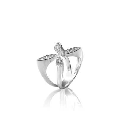 Sparkling Ellipse Ring - Carolina Gynning