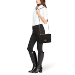 Madison: Medium Crossbody Bag, Mini Croc Emboss