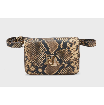 Madison: Small Crossbody Bag, Snake Emboss