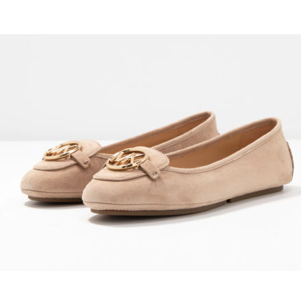 Lillie Suede Moccasin, sahara