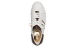 Keaton Stripe Sneaker, white brown