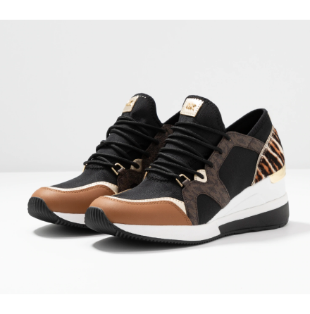 Liv Trainer, black/dark camel