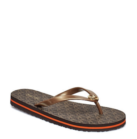 MK Flip Flop Stripe Eva, brown