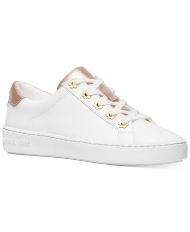 Irving Lace up, optical/rose gold