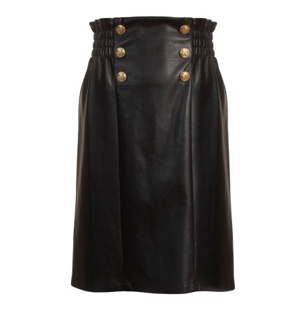 Keeley Skirt Vegan Leather, black