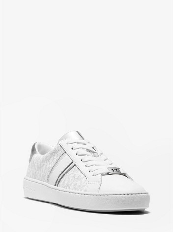 Irving Stripe Lace Up, bright white