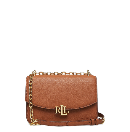 Madison: Medium Crossbody Bag, Classic Pebble, lauren tan