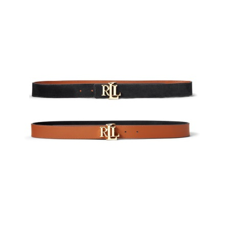 Reversible Leather Belt Medium, Classic Pebble: Black/Tan