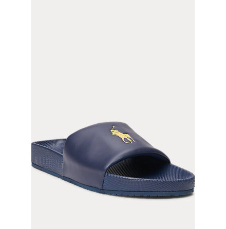 Cayson Sandals, navy/gold