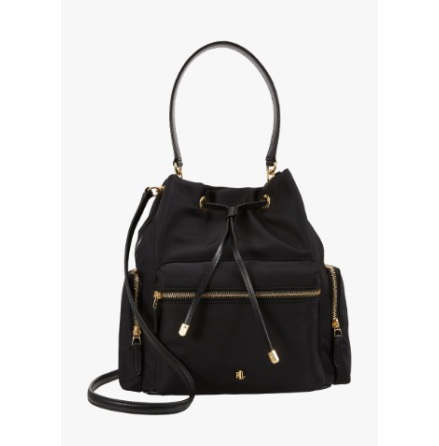 Debby Drawstring: Medium, black