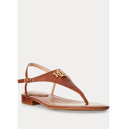 Ellington Sandals, deep sadel tan