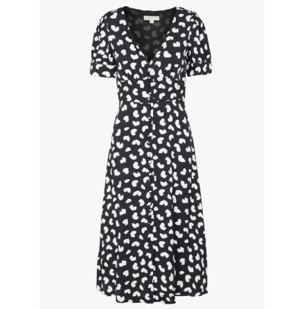 Petal Passion Dress, black