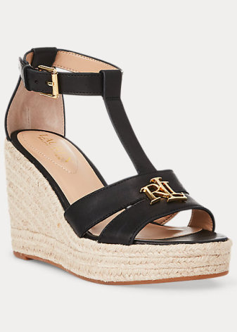 Hale Espadrilles Wedges, black