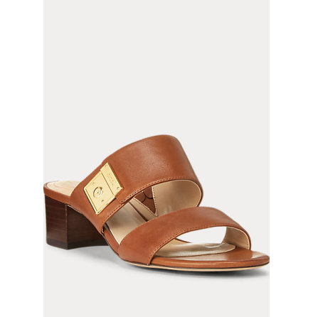 Windham Sandals, deep sadle tan