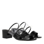 Whitni Sandals, clear/black